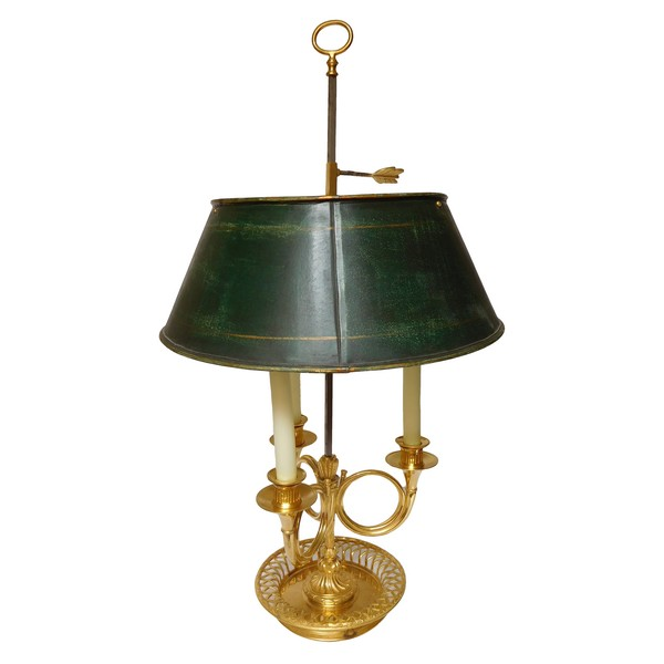 Louis XVI ormolu bouillotte lamp - France, late 18th century