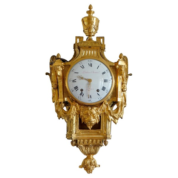 Louis XVI ormolu decorative clock after JC Delafosse - circa 1780