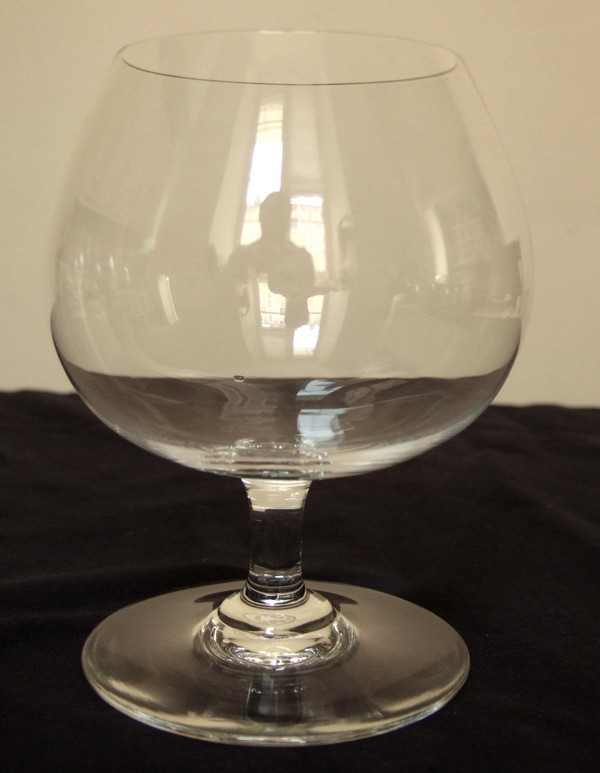 Baccarat crystal Cognac / brandy glass, Perfection / Oenologie pattern - signed