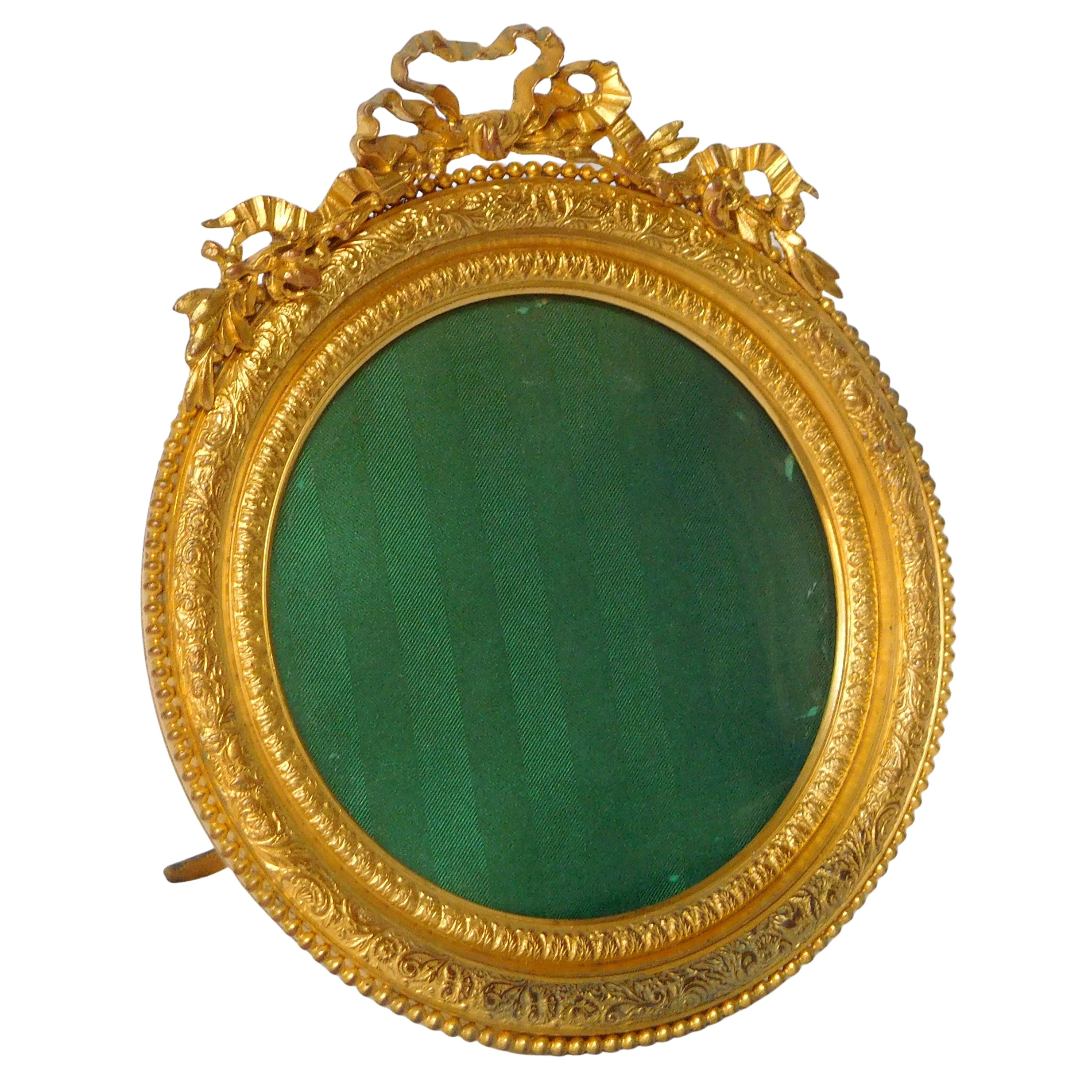 Large miniature ormolu frame, Louis XVI style, late 19th century production