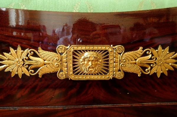 Index of boutique meubles images lit empire acajou bronze for Meuble empire